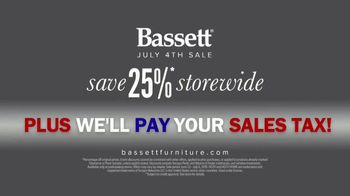 Bassett July 4th Sale TV Spot, 'Simply' - Thumbnail 10
