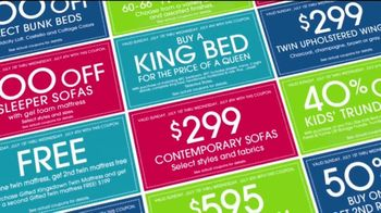 Rooms to Go TV Spot, 'Coupons in Your Newspaper' - Thumbnail 1