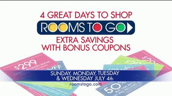 Rooms to Go TV Spot, 'Coupons in Your Newspaper' - Thumbnail 10