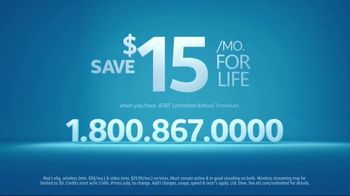 AT&T Wireless Unlimited &More Premium TV Spot, 'Your Thing' - Thumbnail 10