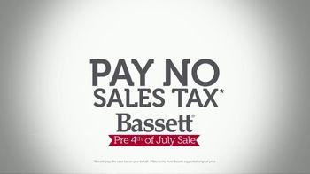 Bassett Pre 4th of July Sale TV Spot, 'Pay No Sales Tax' - Thumbnail 3