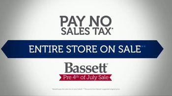 Bassett Pre 4th of July Sale TV Spot, 'Pay No Sales Tax' - Thumbnail 4