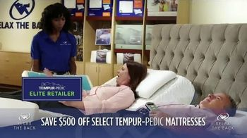 Relax the Back July Fourth Sales Event TV Spot, 'TEMPUR-Pedic' - Thumbnail 2