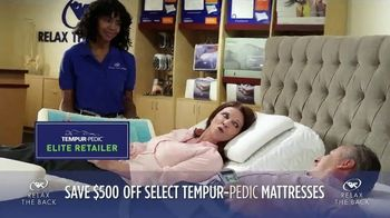 Relax the Back July Fourth Sales Event TV Spot, 'TEMPUR-Pedic' - Thumbnail 3