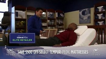 Relax the Back July Fourth Sales Event TV Spot, 'TEMPUR-Pedic' - Thumbnail 4