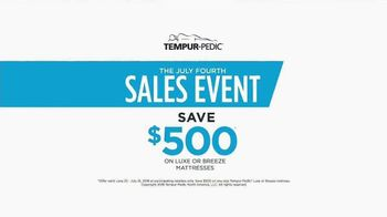 Relax the Back July Fourth Sales Event TV Spot, 'TEMPUR-Pedic' - Thumbnail 5
