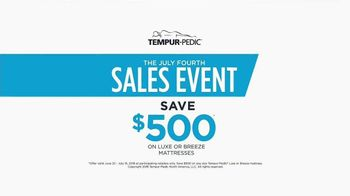 Relax the Back July Fourth Sales Event TV Spot, 'TEMPUR-Pedic' - Thumbnail 6