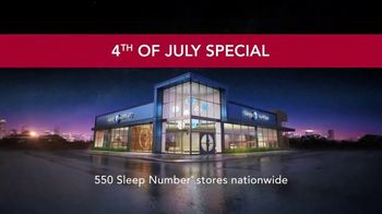 Sleep Number 4th of July Special TV Spot, 'Closeout Savings on Queen c2' - Thumbnail 7