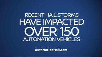 AutoNation Nissan Hail Sale TV Spot, 'Minor Dings, Major Savings' - Thumbnail 1