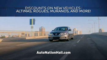 AutoNation Nissan Hail Sale TV Spot, 'Minor Dings, Major Savings' - Thumbnail 6