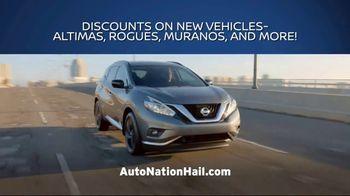 AutoNation Nissan Hail Sale TV Spot, 'Minor Dings, Major Savings' - Thumbnail 7