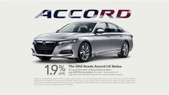Honda 4th of July Sales Event TV Spot, 'Time to Celebrate' [T2] - Thumbnail 7