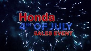 Honda 4th of July Sales Event TV Spot, 'Time to Celebrate' [T2] - Thumbnail 8