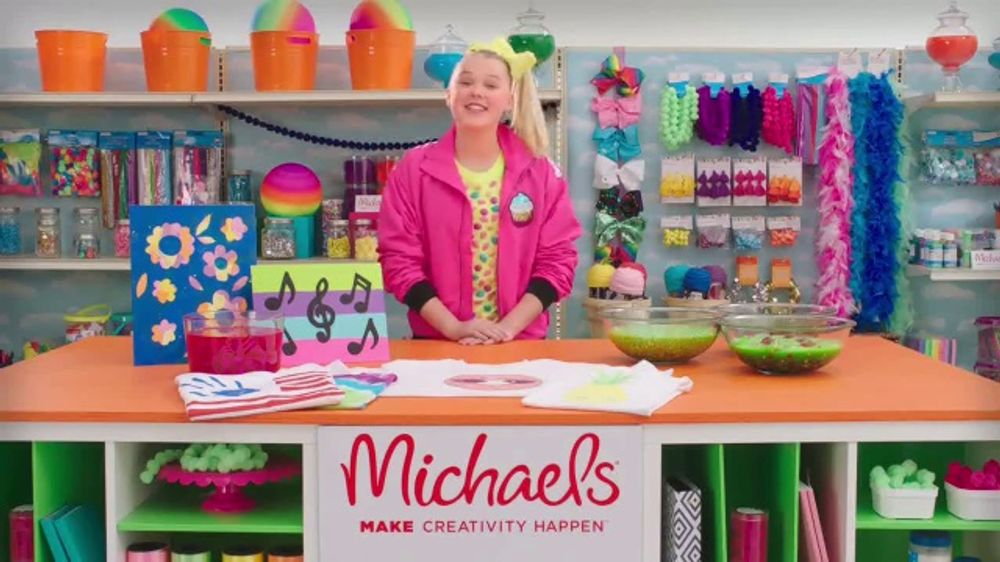 Michaels tv commercial nickelodeon meet jojo siwa ispot m4hsunfo