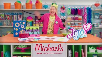 Michaels TV Spot, 'Nickelodeon: Meet JoJo Siwa' - Thumbnail 1