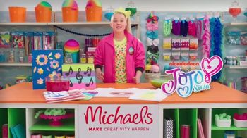Michaels TV Spot, 'Nickelodeon: Meet JoJo Siwa' - Thumbnail 2