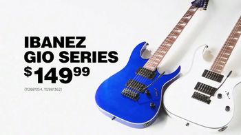 Guitar Center TV Spot, 'Fourth of July: Fender & Ibanez' Ft. Chicano Batman