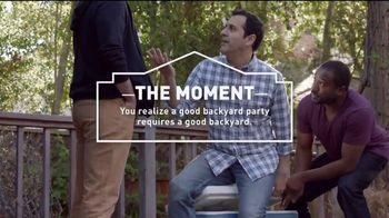Lowe's 4th of July Savings TV Spot, 'The Moment: Good Back Yard: Mulch' - Thumbnail 3