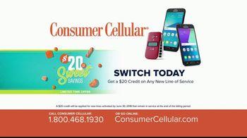 Consumer Cellular $20 off Sweet Savings TV Spot, 'Slice of Pie' - Thumbnail 7