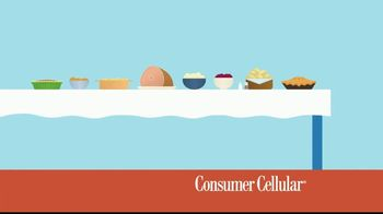 Consumer Cellular $20 off Sweet Savings TV Spot, 'Slice of Pie'
