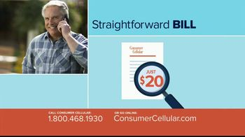 Consumer Cellular $20 off Sweet Savings TV Spot, 'Slice of Pie' - Thumbnail 4