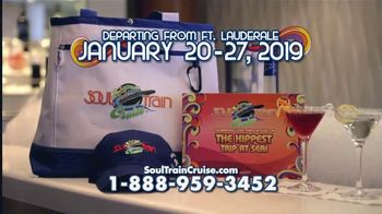 2019 Soul Train Cruise TV Spot, 'The Ultimate Party' Feat. Smokey Robinson - Thumbnail 8