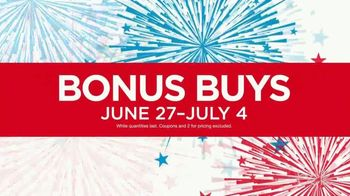 Belk 4th of July Sale TV Spot, 'Bonus Buys' - Thumbnail 2