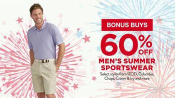 Belk 4th of July Sale TV Spot, 'Bonus Buys'