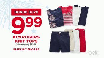 Belk 4th of July Sale TV Spot, 'Bonus Buys' - Thumbnail 4