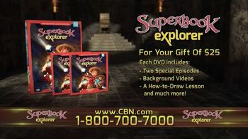 Superbook Explorer Volume 15 Home Entertainment TV Spot - Thumbnail 5