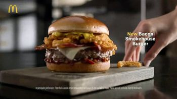 McDonald's Bacon Smokehouse Burger TV Spot, 'Smoke, Sass and Tang' - Thumbnail 9