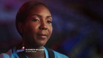 WNBA TV Spot, 'Watch Me Work 3.0 Elizabeth Williams' - 107 commercial airings