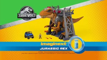 Imaginext Jurassic World Jurassic Rex TV Spot, 'Getting Angry' - Thumbnail 10