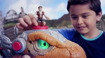 Imaginext Jurassic World Jurassic Rex TV Spot, 'Getting Angry' - Thumbnail 4
