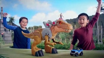 Imaginext Jurassic World Jurassic Rex TV Spot, 'Getting Angry'