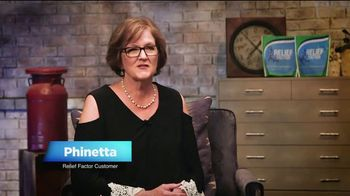 Relief Factor Quickstart TV Spot, 'Phinetta' Featuring Pat Boone - 25 commercial airings