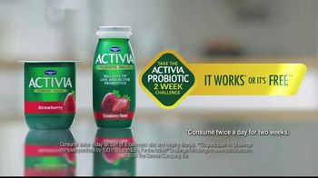 Dannon Activia Probiotic Dailies TV Spot, 'Healthy Routine: Feel My Best' - Thumbnail 10