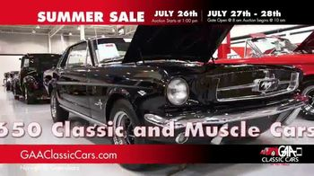 GAA Classic Cars Summer Sale TV Spot, 'Three Day Auction' - Thumbnail 4