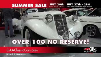 GAA Classic Cars Summer Sale TV Spot, 'Three Day Auction' - Thumbnail 5