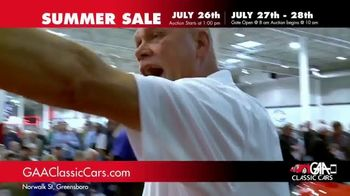 GAA Classic Cars Summer Sale TV Spot, 'Three Day Auction' - Thumbnail 6