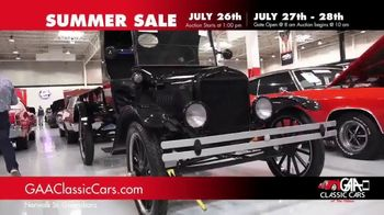 GAA Classic Cars Summer Sale TV Spot, 'Three Day Auction' - Thumbnail 7
