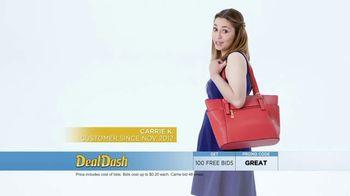 DealDash TV Spot, 'Auction Deals: Headphones and Tote' - Thumbnail 3