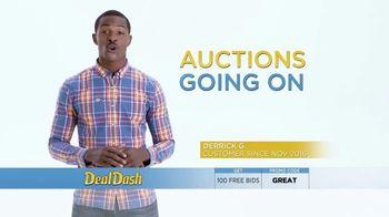 DealDash TV Spot, 'Auction Deals: Headphones and Tote'