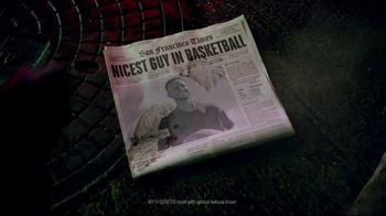 2019 Infiniti QX50 TV Spot, 'The Nicest Guy in Basketball' Ft Stephen Curry