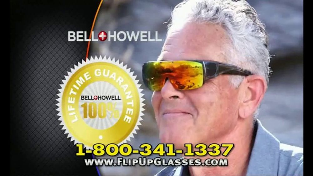 da3ae465d6 Bell + Howell Flip-Up Tac Glasses TV Commercial