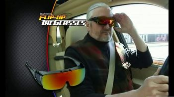 Bell + Howell Flip-Up Tac Glasses TV Spot, 'Good Morning' - Thumbnail 3