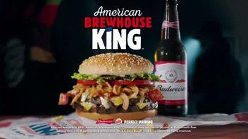 Burger King American Brewhouse King TV Spot, 'Whassup' - Thumbnail 8