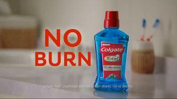 Colgate Total TV Spot, 'Burn Face' - Thumbnail 7