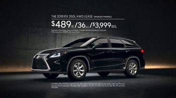 2018 Lexus RX 350L TV Spot, 'Emily' [T2] - Thumbnail 9