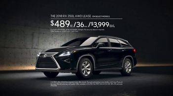 2018 Lexus RX 350L TV Spot, 'Emily' [T2] - Thumbnail 8